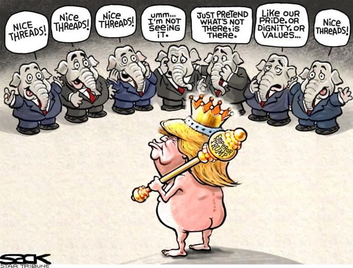 The Former Emperor's New Clothes