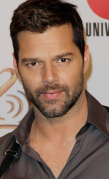 Ricky Martin, another popular Puerto Rican singer