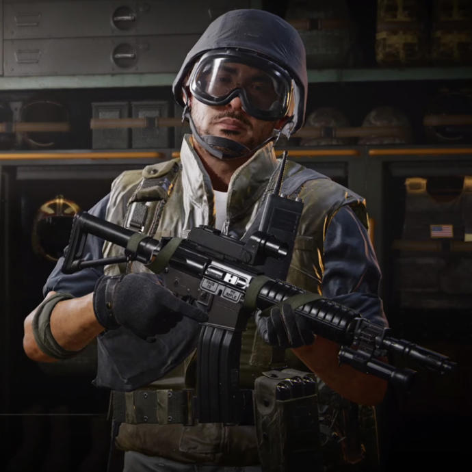 Hunter J my favorite multiplayer operator and the only Asian character in the game so far