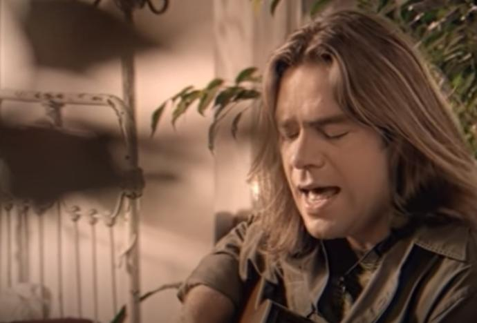 Great Big Seas Clearest Indication video still (Alan Doyle pictured)