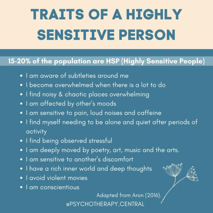 Highly Sensitive Person (HSP): Have you heard of it, or do you identify with it?