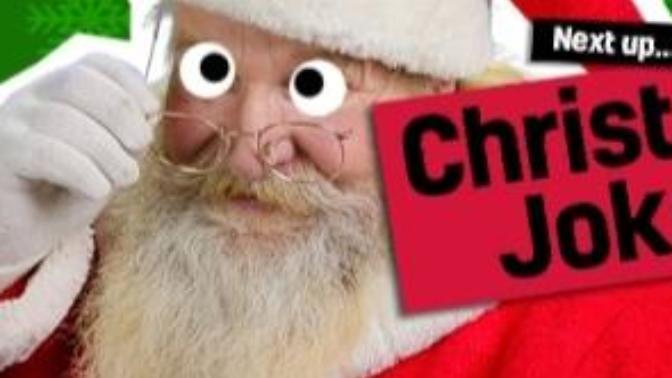"""A Little Holiday Cheer""Christmas Jokes"