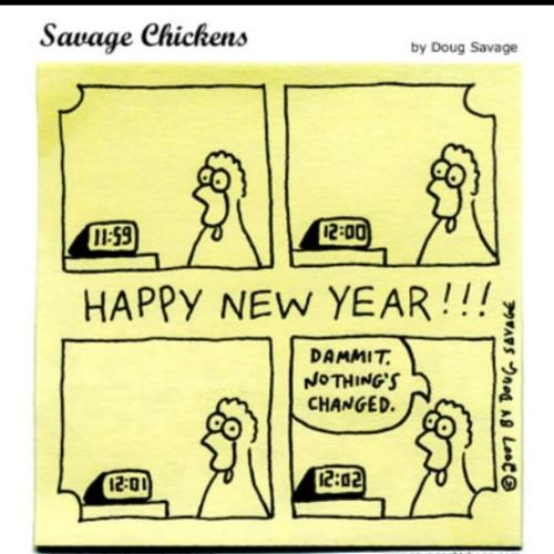 New Year... Another Old Joke Take...