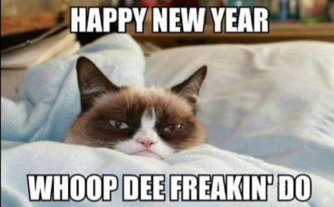 Me on New Years