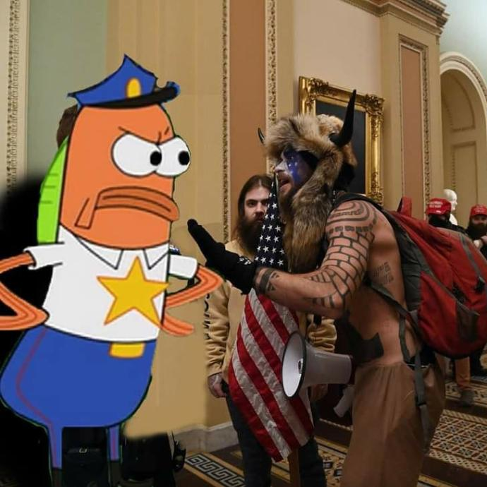 The US Capitol crisis as told in Spongebob Memes