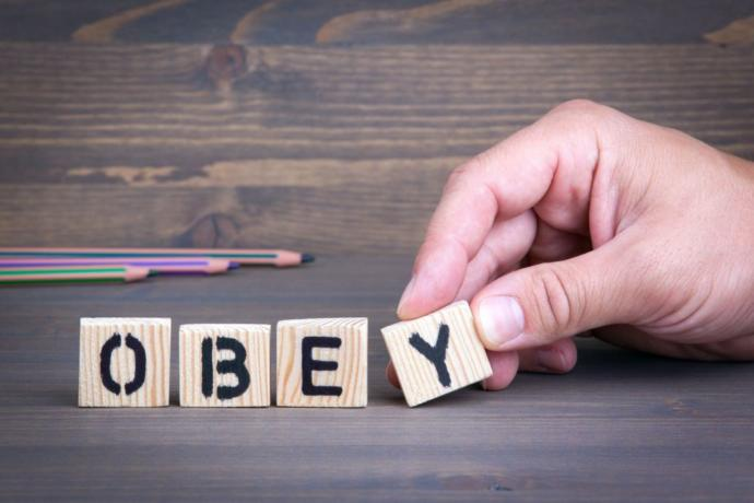"""""""Obey"""" - something that ABA focuses on"""