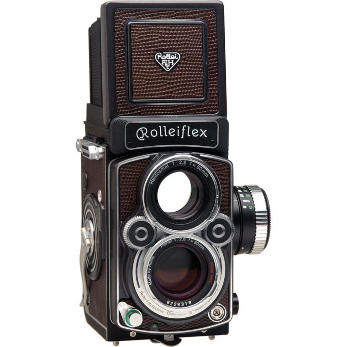 Probably the most iconic twin lens reflex
