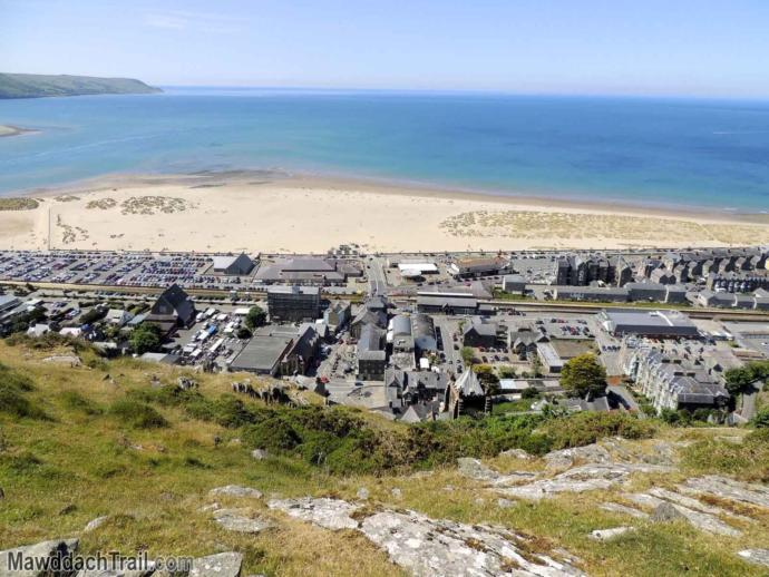 View of barmouths nudist beach, and yes I have