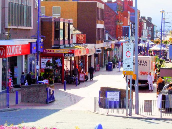 Rhyl. Not so much a shithole as a diarrhoea filled chasm