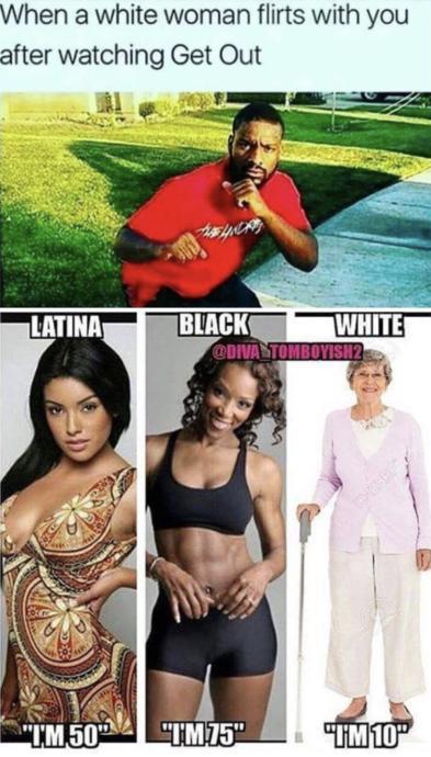 #3 Get Out OR #4 Black Dont Crack