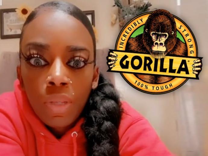 What Dummy Puts Gorilla Glue On Their Hair?
