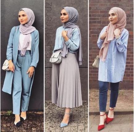 Here are a few examples of modest fashion. It doesnt have to make you look like a bag and sure isnt boring!