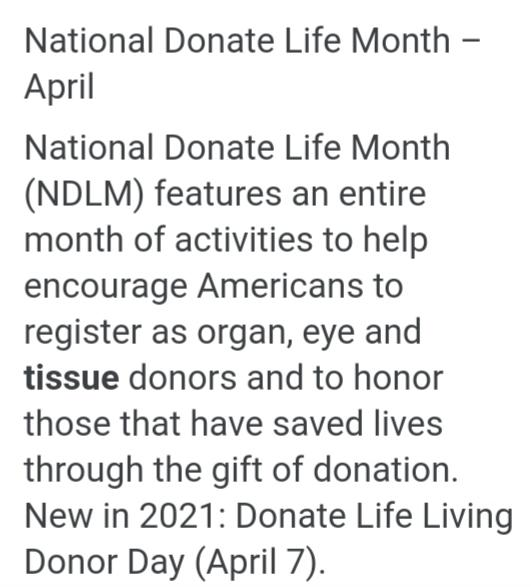 My Familys Personal Experience With Donor Transplant