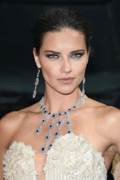 The most attractive feature of Adriana Limas face is her eyes in my opinion. Not just the color, but the overall shape. Very