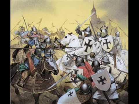 Mongols defeated various knight orders in Eastern and Central Europe