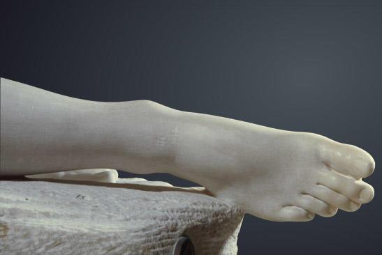 Antonio Canova (1757–1822), Greek anatomical-style foot