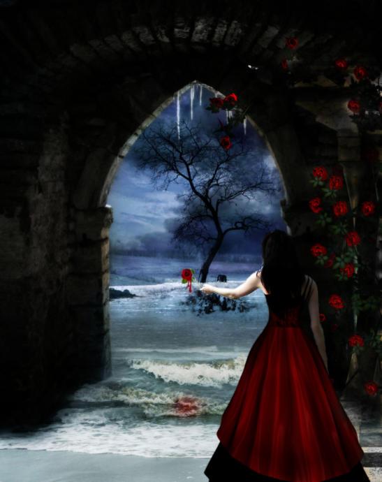 A Bleeding Rose by HunterOfSolitude, DeviantArt