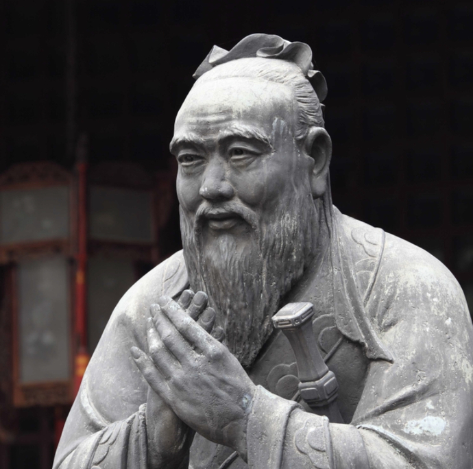 Confucius was deeply mistaken but also brilliant