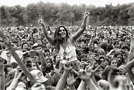 Woodstock, 1969.  I was NOT there;  I was only 14 years old.