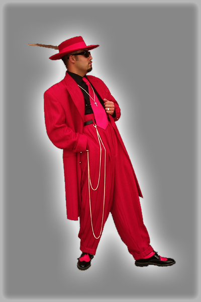 Zoot Suit. Surprisingly, this would NOT make a good first impression!
