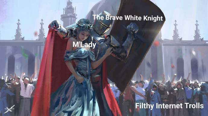 How guys turn into a beta simp white knight (or as MGTOW calls it: blue pilled)