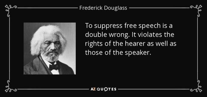 Abolitionist Fredrick Douglass