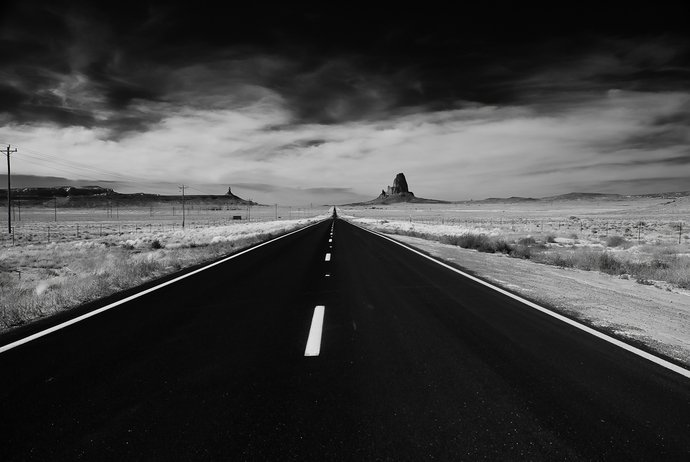 Take the road most traveled, and taking the road least traveled, following a beaten path.. leads you to a location desired... or not
