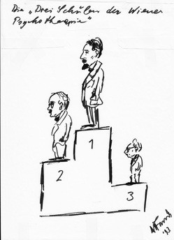 """""""Three Viennese Schools"""""""" of Psychotherapy: Freud (1) Adler (2) Frankl (3); & Inferiority Complex?"""