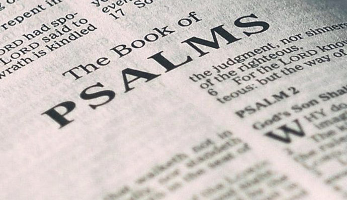 What I learned today when praying the psalms