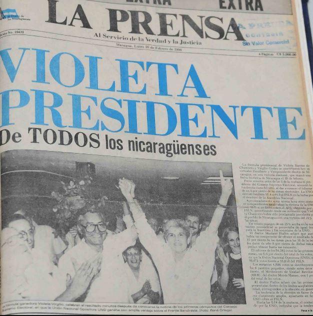 National news paper: La Prensa