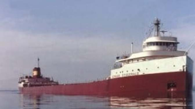 """""""Dark Fathoms of Lake Superior""""- The story of the SS Edmund Fitzgerald"""