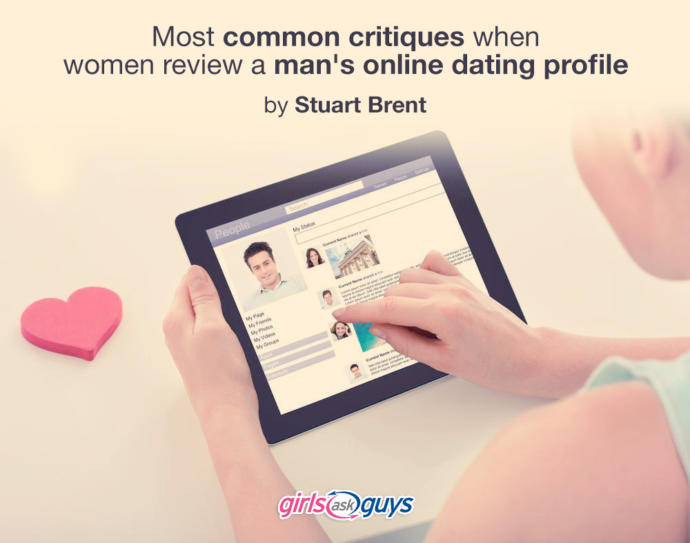 Most common critiques when women review a man's online dating profile