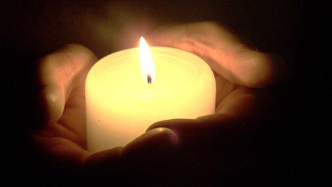 Praying. It really does make you feel better, even if you don't believe. I light digital candles on this site -
