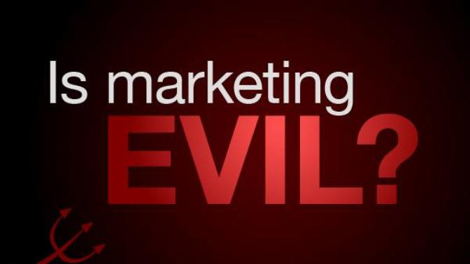 Is marketing an intrinsically evil practice?