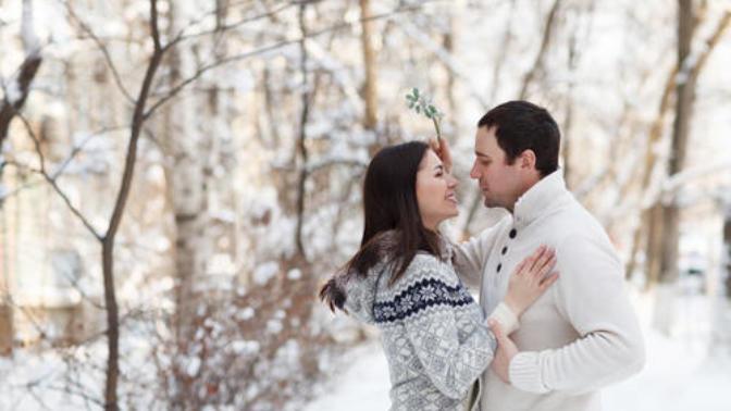 Kissing Under the Mistletoe: Why Do We Do It?