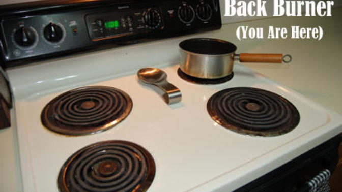 How to deal with being the back burner guy