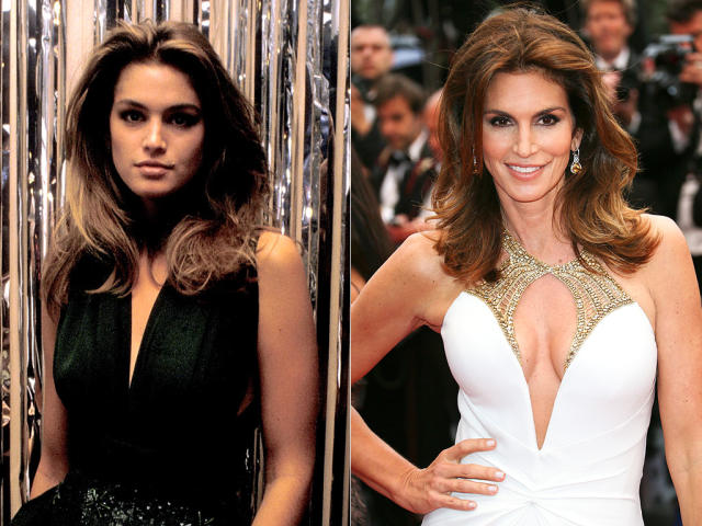 5 Supermodels: Then and Now