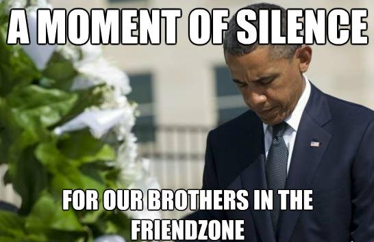 you just got friendzoned