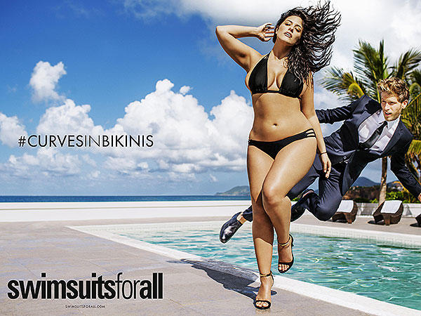 Plus-Size Model Ashley Graham Makes in History in Sports Illustrated Swimsuit Issue