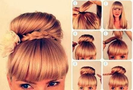 Cute 5 Hairstyles For Valentine's Day!!