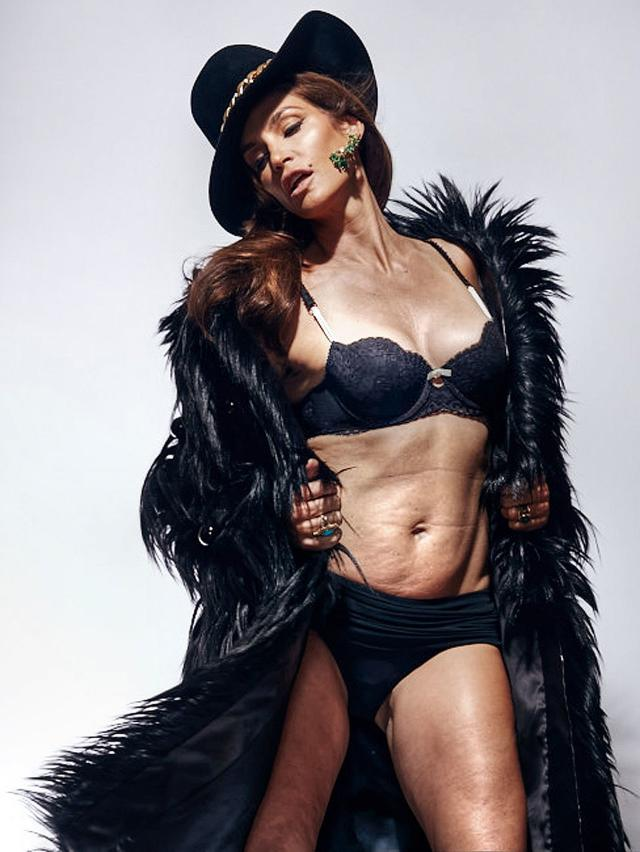 Cindy Crawford: Untouched by Mortality?