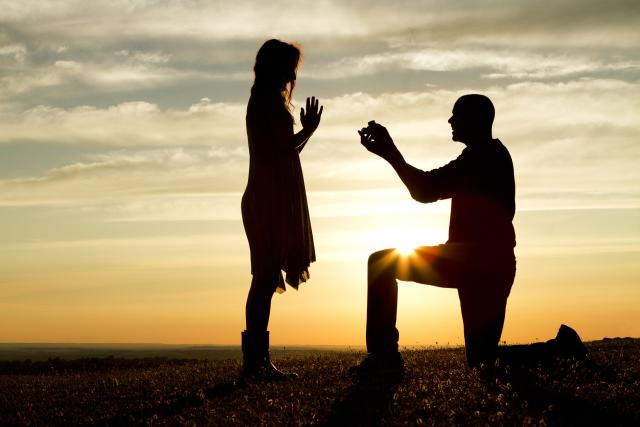 A unique Wedding Proposal