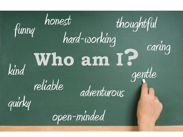 Find out who you are with FIVE SIMPLE WORDS