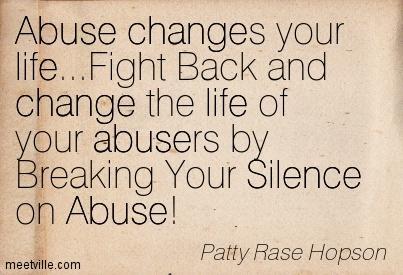 Surviving Child Molestation: Breaking the Silence