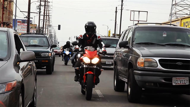 Motorcycle Lane Splitting - Why it is good and how it is misused.