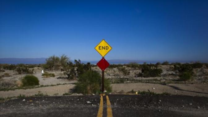 The end of the road for a relationship