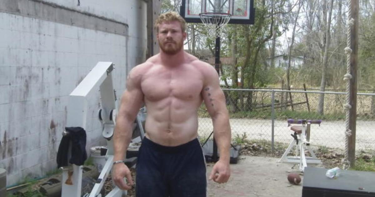 Strong man body type