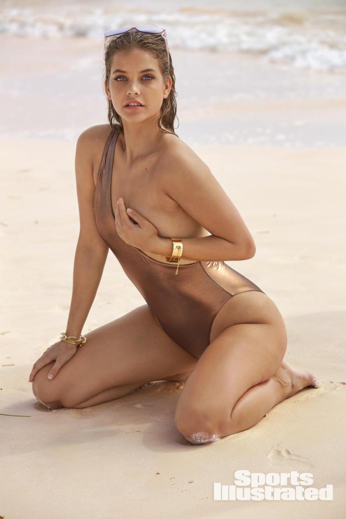 Barbara Palvin's body shape