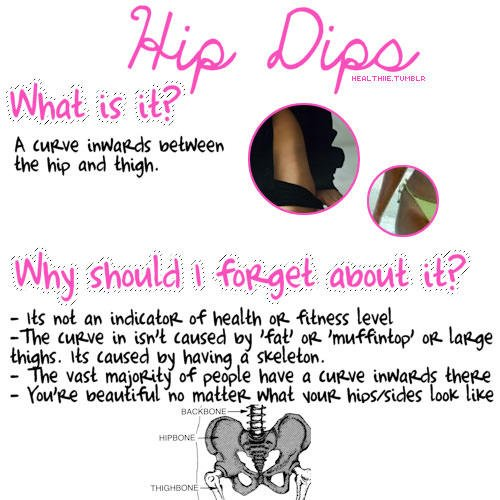 what is hip dips