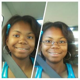 Do I look better with or without my glasses?
